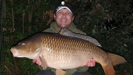 Paul Marriot landed some big Carp at Sawtry.