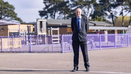 Chris Read, Interim Headteacher, The Bishop's Church of England Academy, Thetford. Picture: DNEAT/St