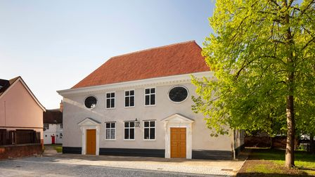 Restoration work has been completed at Ipswich's Unitarian Meeting House.