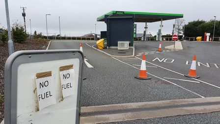 The Asda Fuel Station at Affinity Devon is also closed