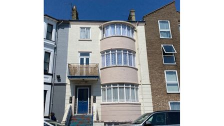 Apartments block Queens Road Great Yarmouth auction