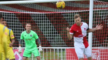 Charlie Crowley was the shoot-out hero and David Keenleyside the man of the match as WGC beat Hythe Town in the FA Trophy.