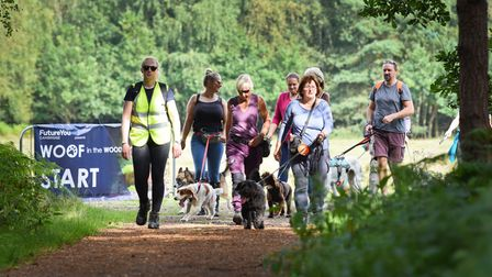 Woof in the Woods was organised by FutureYou Cambridge