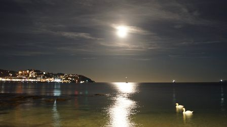 Reflections on Torquay seafront