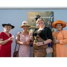 Ladies' Day -from left,Lainey Harvey as Pearl,Sarah Mallet as Shelly,Kathryn Bamforth as Linda andBea Hutchings as Jan