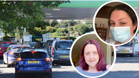 North Norfolk key workers have shared the impact of fuel panic buying