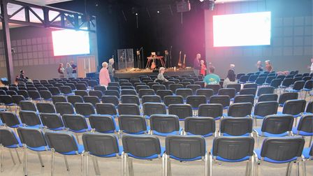 Inside the newly opened Hope Centre in Ipswich.