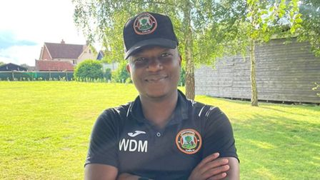 Huntingdon Town manager Wilkins Makate has seen his team make an incredible start to the new season.
