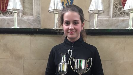 St Albans' Sophia Fullbrook, who plays for Brocket Hall Golf Club, has been selected for England U16s to take on Ireland.