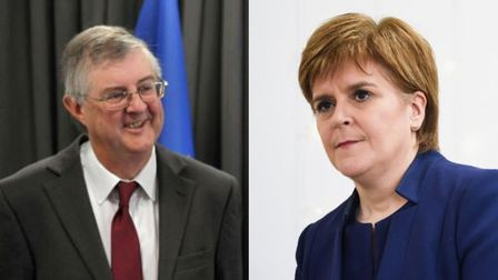 First ministers of Wales and Scotland, Mark Drakeford and Nicola Sturgeon, have written to the prime