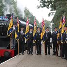 Eight RBL standard bearers and other members