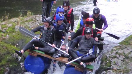 Brave teams are geared up to tackle the daredevil Totnes raft Race on Sunday, October 10