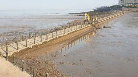 Weston's Marine Lake has been closed since April.