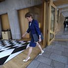 EDINBURGH, SCOTLAND - JUNE 3: Scottish First Minister, Nicola Sturgeon attends First Ministers Quest