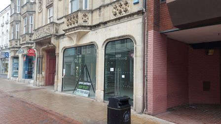 The former Office Shoes store in Westgate Street, Ipswich, which couldbecome a Starbucks branch