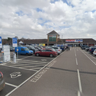The theft took place in Tesco car park