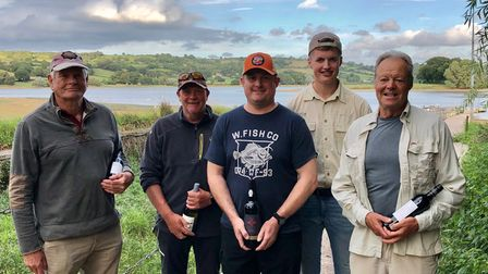 Winners of The Kennick Fly Fishers competition