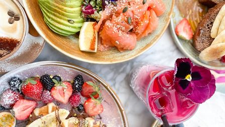 Instagrammable dishes from Mare Street café Palaette.