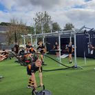 Clevedon School FitCube gym