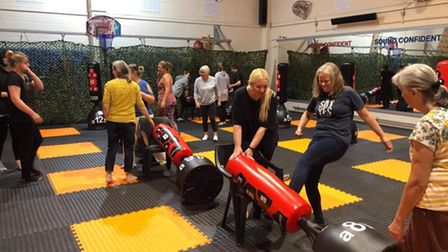The SESMA self-defence class in Drayton has become very popular