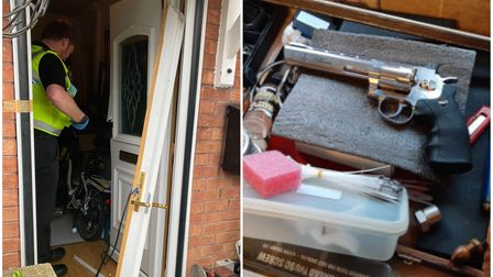 Police carried out the warrant on Friday (September 24)where they raided the property and arrested the man.