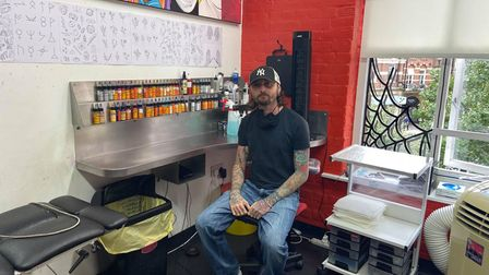 Carl Green said Rude Boy studios had been packed since the parlour opened again in April