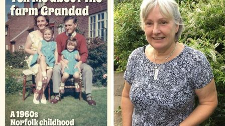 Janet Collingsworth, from Aylsham, has penned a book called Tell me about the farm Grandad, A 1960s Norfolk childhood.