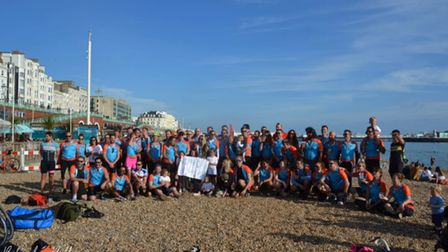 100 cyclists including 13-year-old Logan took on the challenge in memory of Billy Hookway.