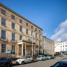 The John Dower House building has been converted into apartments for sale in the heart of Cheltenham, Gloucestershire.