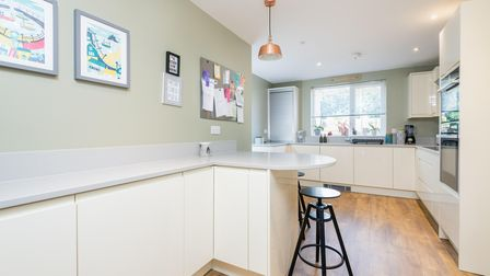 The kitchen at New Costessey