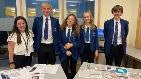 Staff and students successful Pakefield High School open evening