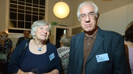 Patricia Walby from Friends of Waterlow Park and Highgate Society vice president Michael Hammerson