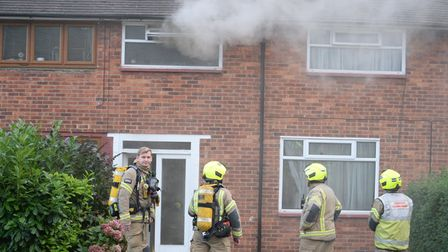 Firefighters were called to the house fire on Petersfield Close in Romford on Friday, September 25.
