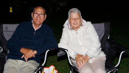 Royston Arts Festival - Peter and Jeanette Earley enjoy the concert.Picture: Karyn Haddon