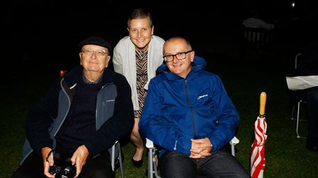 Royston Arts Festival - The Brown family enjoy the music.Picture: Karyn Haddon