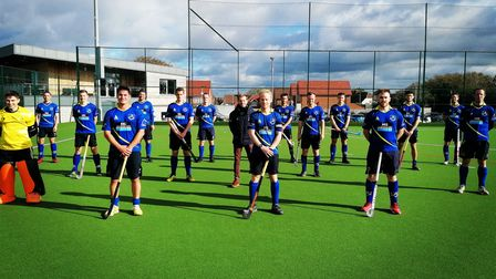Blueharts men got their season back on track with a win over Cambridge City.