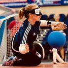 Georgie Bullen from Royston is a Paralympian goalball player