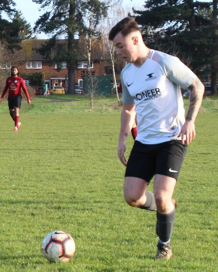 Jimmy Talbot scored four AFC London Road Res in a win over Radlett Town.