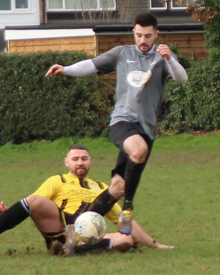 Scott Melvillescored two of Phoenix goals as they got their first win of the season against Paxton Rovers Blue.
