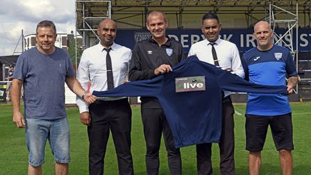 Olive Indian in St Neots have sponsored Eynesbury Rovers FC
