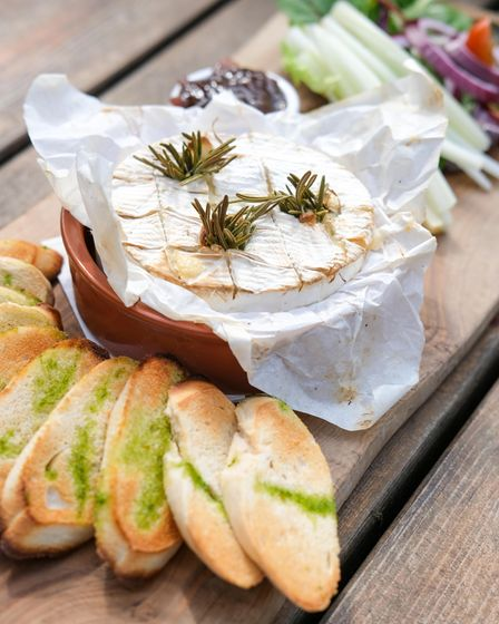 Baked Camembert, perfect for sharing