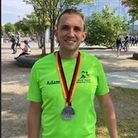 Adam Bartlett broke the fastest marathon time for a Harold Wood Running Club member as he completed the Berlin Marathon
