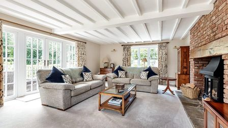Five bedroom home near Ottery St Mary with beautiful sitting room