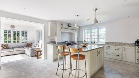 Five bedroom home near Ottery St Mary with beautiful kitchen