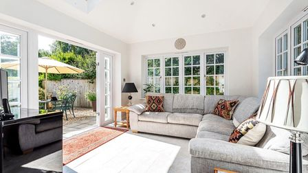 Five bedroom home near Ottery St Mary with a stunning garden room