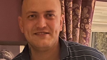 Jamie Wilkinson, a missing 32-year-old, from Leiston, Suffolk