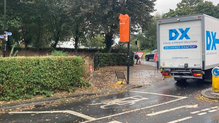 The danger bush at Chapel Field gardens has been trimmed to improve visibility for passing pedestrians