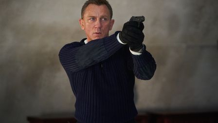 Undated handout file photo issued by Danjaq, LLC/MGM of Daniel Craig playing James Bond in the new B