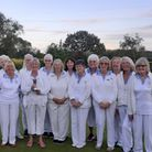 North Mymms Bowls Club's ladies won the 2021 Harvey Cup.