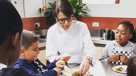 A new star-studded campaign featuring Hackney childrenis on a mission to improveschool meals.